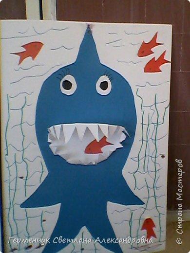 """Работы учащихся 4 """"В"""" ; класса"""" Добрые  акулы"""" фото 4"""