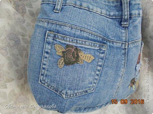 Очень люблю джинсу . Вот и появились следующие две сумки-сестрички. Вид спереди - всё строго и лаконично. фото 3
