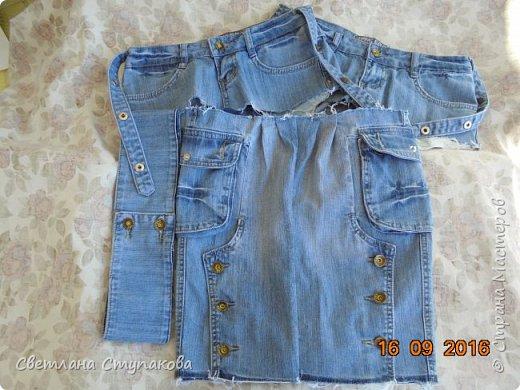 Очень люблю джинсу . Вот и появились следующие две сумки-сестрички. Вид спереди - всё строго и лаконично. фото 9