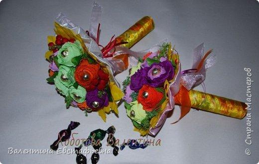 Букеты и композиции из конфет!!! фото 1