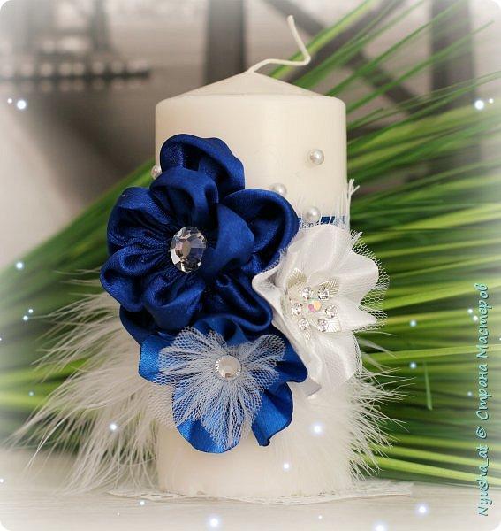 Семейный очаг в синем цвете фото 1