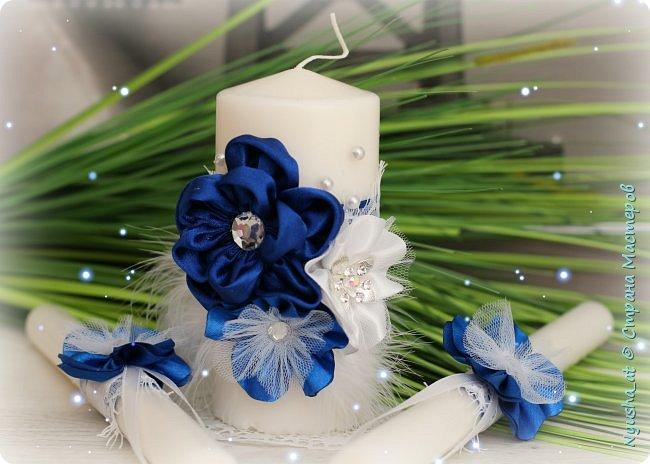 Семейный очаг в синем цвете фото 2