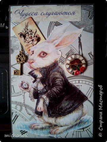 """мои первые работы в этом году открытку делала для игры """"Стрелы Амура"""", посылку отправляла давно, скорее всего она уже  пришла, так что думаю, что я вполне могу выложить содержимое сюда. фото 63"""