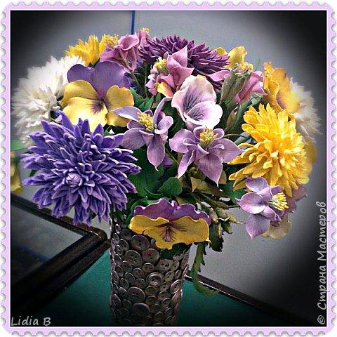 Вот такие цветочки сотворились в конце лета.   фото 1