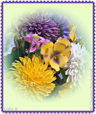 Вот такие цветочки сотворились в конце лета.   фото 3
