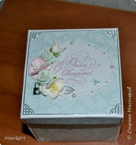 Свадебная коробочка. фото 1