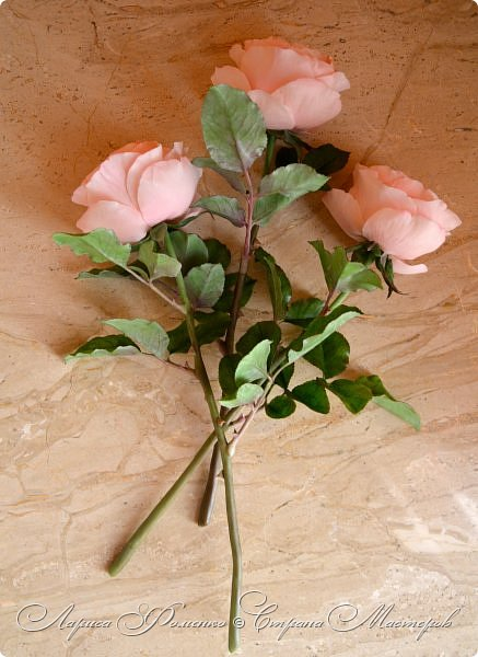 """Давно засматривалась на фотографии английских роз Дэвида Остина.  И вот пришло оно - ВДОХНОВЕНИЕ!!! Вы ведь знаете, как это бывает!!!  И вот так, с огромной радостью и желанием, сотворился мой """" Английский букет"""".  фото 7"""