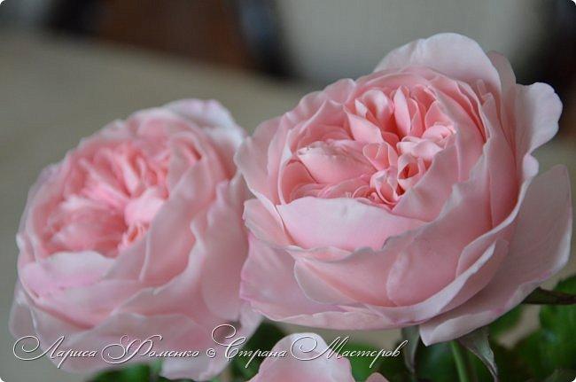 """Давно засматривалась на фотографии английских роз Дэвида Остина.  И вот пришло оно - ВДОХНОВЕНИЕ!!! Вы ведь знаете, как это бывает!!!  И вот так, с огромной радостью и желанием, сотворился мой """" Английский букет"""".  фото 8"""