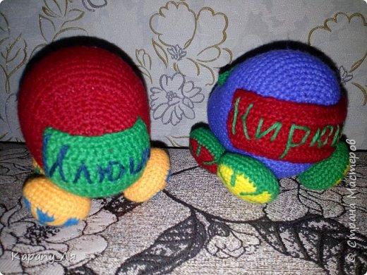 Вот такие подарочки связались))) Деткам понравились)))  фото 2