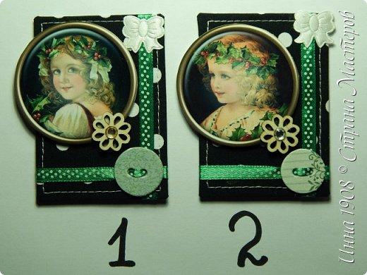 Карточки сделаны из ткани (нашита на картон). Карточка №1 -  Iren.Les Карточка №2 - занята.