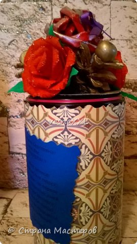 вот так я задекорировала жестяные баночки с чаем нашим воспитателям в садик фото 3
