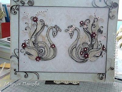 Лебеди-на бумажную свадьбу фото 3