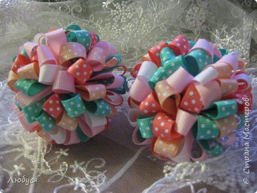 Бантики из репса для моих модниц.... фото 4