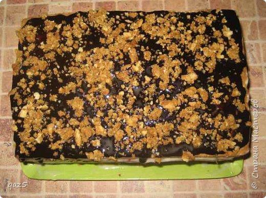Медовый торт с вишнями хорошее сочетание и простой рецепт приготовления. фото 12