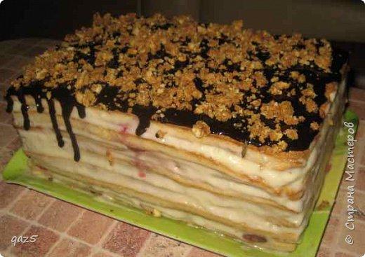 Медовый торт с вишнями хорошее сочетание и простой рецепт приготовления. фото 13