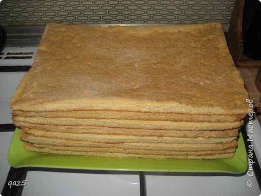 Медовый торт с вишнями хорошее сочетание и простой рецепт приготовления. фото 10