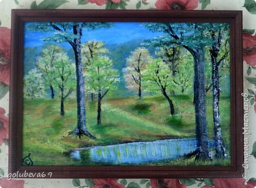 Осенний пейзаж. МК Боба Росса на Ютубе. фото 2