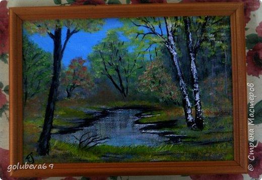 Осенний пейзаж. МК Боба Росса на Ютубе. фото 1