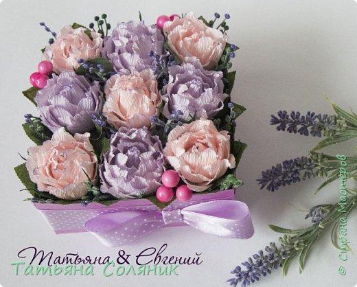 Сделалась недавно такая вот коробочка с розами. Многие спрашивали мк и коробочки и розочек. Делюсь и тем и тем.  фото 1