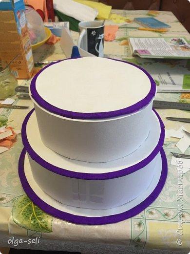 Денежный торт фото 1