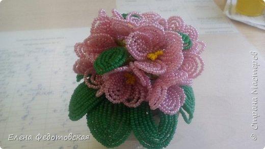 мои первые цветочки)) сделано в подарок воспитателям фото 5
