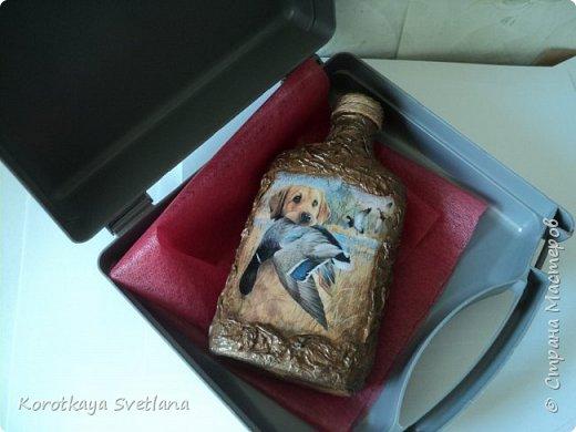 Такой комплект делала на заказ. Дежурный чемоданчик для охотника. Сам чемоданчик из автомобильной аптечки, а бутылка-это бутылка. фото 4