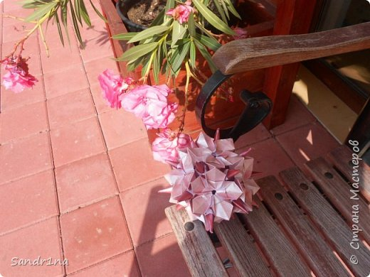 Кусудама Флорамия  фото 3