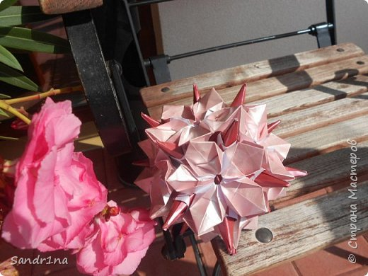 Кусудама Флорамия  фото 5