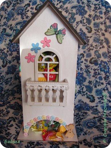 Домик для конфет фото 1