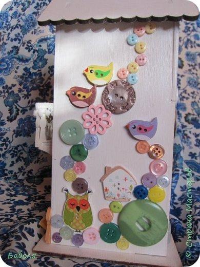 Домик для конфет фото 3