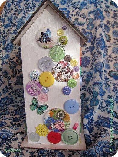 Домик для конфет фото 4