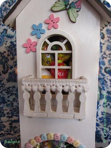 Домик для конфет фото 6