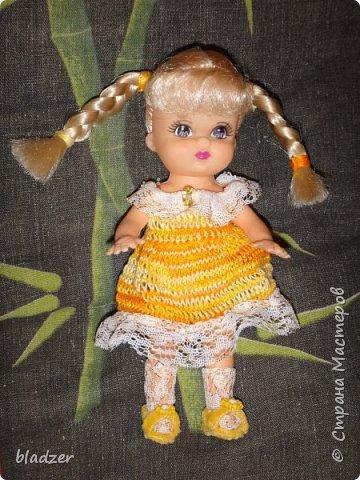 Эту куколку высотой 17 см я нашла на блошином рынке рядом с домом и назвала Бетти. фото 3