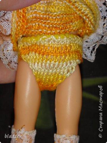 Эту куколку высотой 17 см я нашла на блошином рынке рядом с домом и назвала Бетти. фото 4