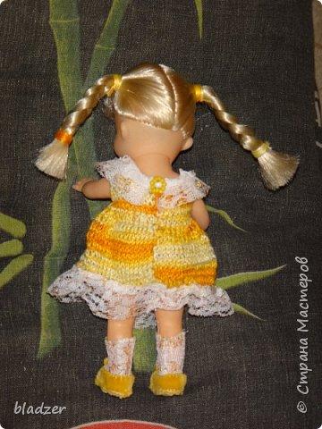 Эту куколку высотой 17 см я нашла на блошином рынке рядом с домом и назвала Бетти. фото 6