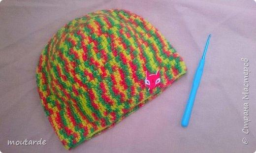 Вчера довязался комплект из шарфика и шапочки для мальчишки.  Теперь, думаю, может чем-то его можно дополнить? мальчики 3 лет митенки носят?)) фото 2
