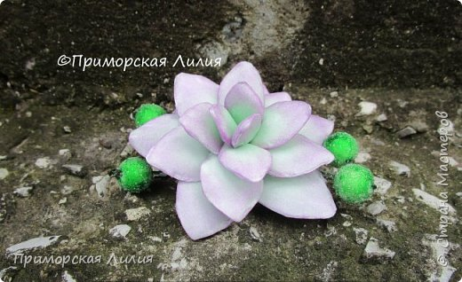 Давно хотела сделать именно эти цветы.  Делала из зефирного фоамирана, каждый цветок разным способом. фото 4
