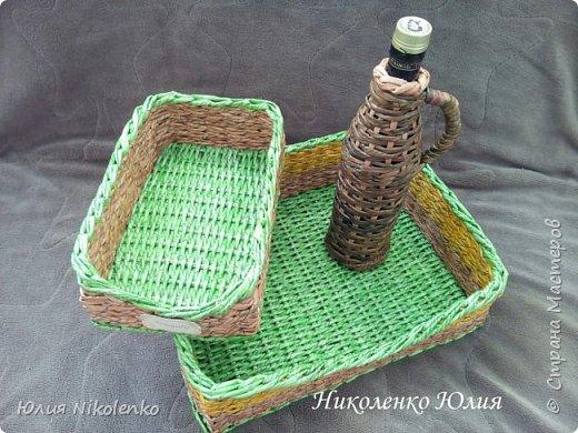 Плетеная корзинка для специй и пряных трав очень удобная и нужная вещица на кухне. Прочная, легкая, удобная и довольно вместительная корзинка для кухни поможет держать в порядке пакетики со специями и пряными травами. фото 7