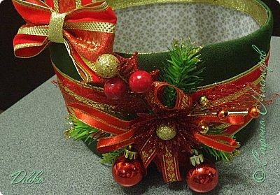 корзинка новогодняя фото 8