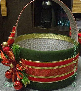 корзинка новогодняя фото 9