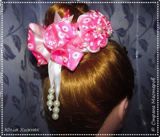 Заколки, резинки для волос фото 17