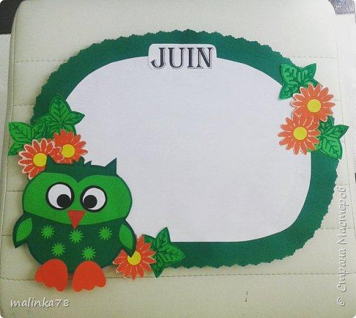 Декор для класса. 12 месяцев. Дни рождения детей в группе или в классе. Приклеиваються фотографии детей к тому месяцу в котором они родились. Таким образом отмечают дни рождения детей в классе. фото 7