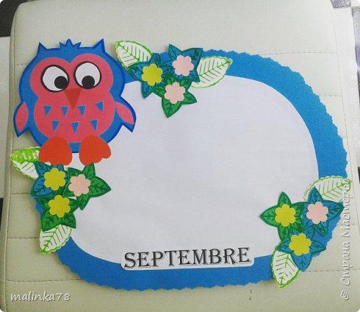 Декор для класса. 12 месяцев. Дни рождения детей в группе или в классе. Приклеиваються фотографии детей к тому месяцу в котором они родились. Таким образом отмечают дни рождения детей в классе. фото 5
