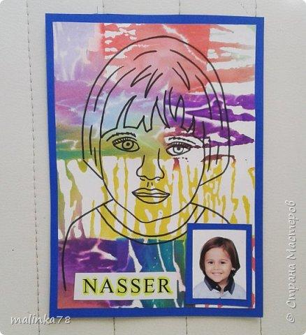 Картинка с фото на шкафчик ребёнку в детском саду