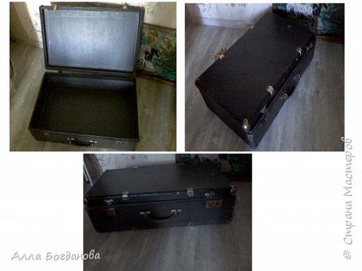 Вот такой старый чемодан хотели выбросить. фото 1