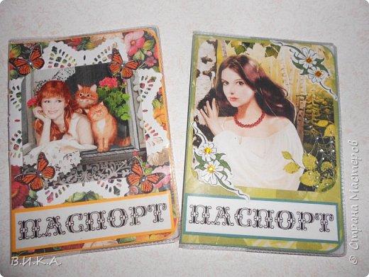Обложки для паспорта фото 2