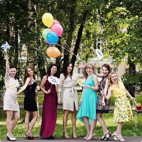 Привет, Страна!!! В прошлом году день рождения дочки отмечали в оранжевом цвете http://stranamasterov.ru/node/902165 , а пятилетие отметили в сине-желтой цветовой гамме.Хочу показать вам то, что у меня получилось подготовить)) фото 7
