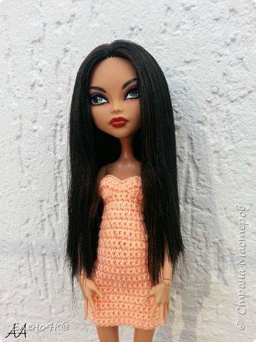 Недавно я писала, что меня коснулось увлечение куклами Monster High.  И уже знакомила вас с Клодин. А сегодня хочу показать еще одну мою любимицу - Клео Де Нил. фото 4