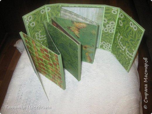 Альбомы, сделанные по мастер-классам из интернета. фото 5
