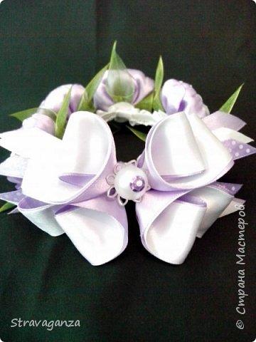 """Всем добрый день! Снова хочу поделиться новыми изделиями. И снова меня вдохновляет Татьяна Скрябина. Очень красивые бабочки """"Аметист"""". Я делала на заказ в разных цветах, в любом варианте смотрятся просто чудесно, но мой любимый цвет все же фиолетовый. фото 2"""